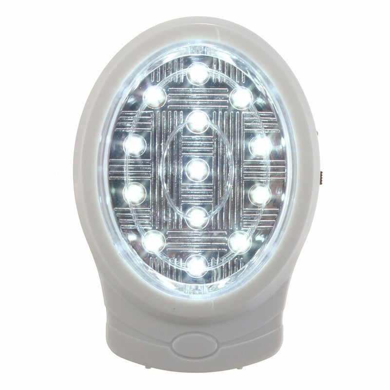 13 LED Rechargeable Home Emergency Light Automatic Power Failure Outage Lamp