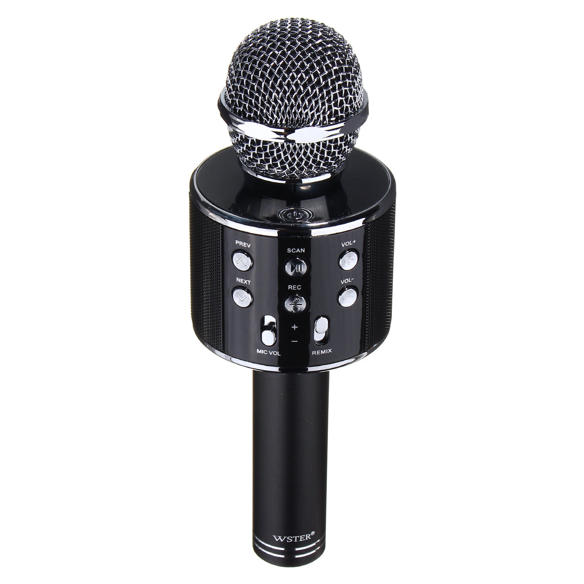 Universal Wireless Bluetooth Karaoke Microphone Speaker Handheld Mic USB Player for iPhone Samsung