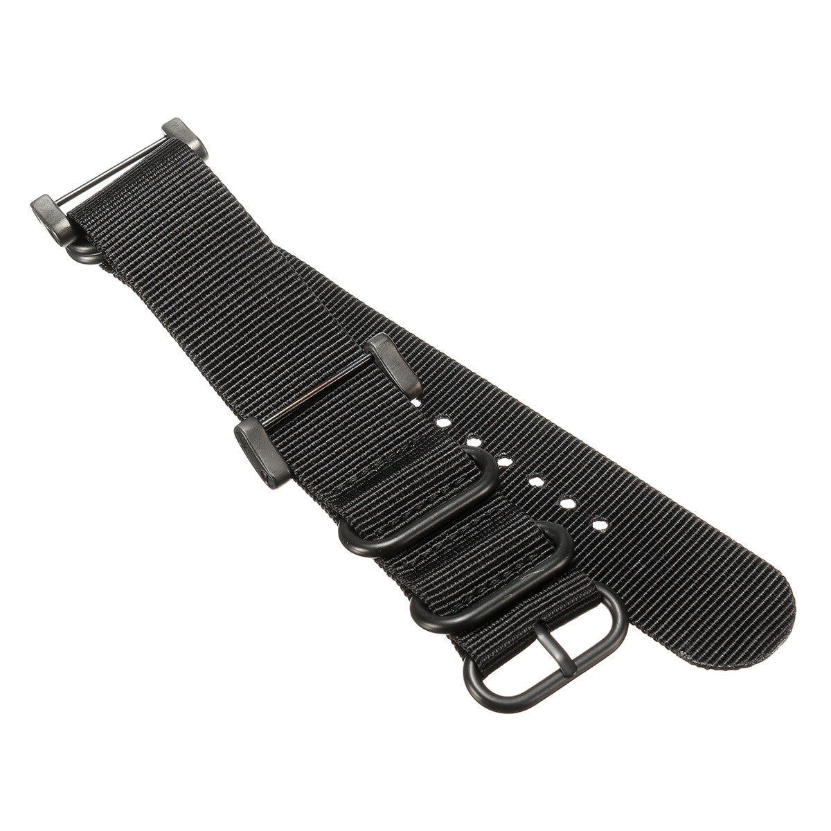 Suunto Climbing Watch Band Wristband Black 5-Ring Lugs Adapter For Suunto Core