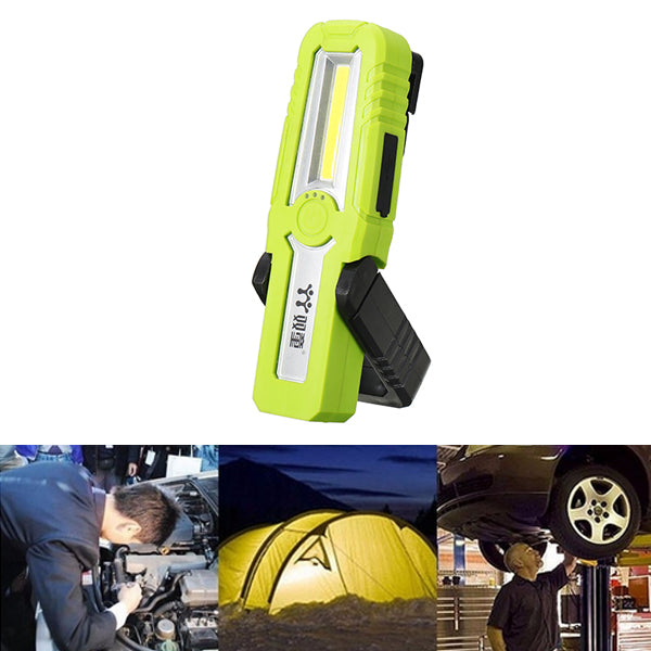 3W Portable COB LED Work Light USB Rechargeable Magnetic Flashlight for Outdoor Camping Emergency