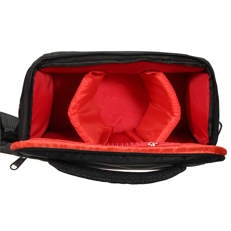 Waterproof Shoulder Carry Case Bag BLACK For Sony Nikon SLR DSLR Camer