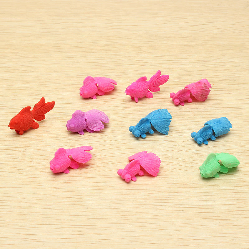 10PCS Goldfish Water Swell Growing Toy Kid Gift Expansion Toys