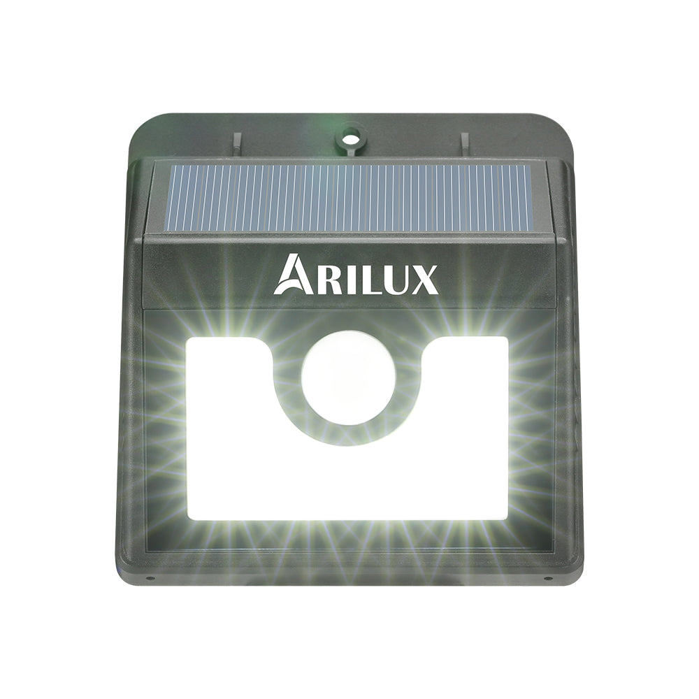 ARILUX® PL-SL 01 Super Bright 8 LED Solar PIR Motion Sensor Light Waterproof Outdoor Security Lamp