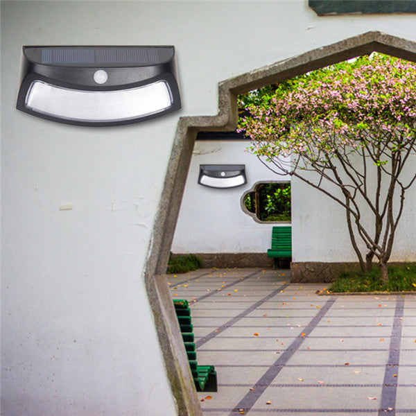LED Solar Lights Waterproof Light Sensor Wall Lamp for Outdoor Yard Garden