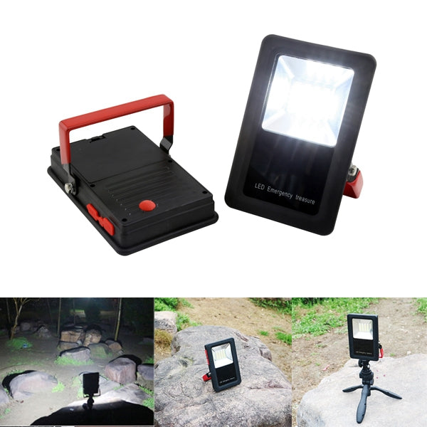 Portable 10W LED Work Flood Light USB Rechargeable Outdoor Camping Waterproof Emergency Lamp