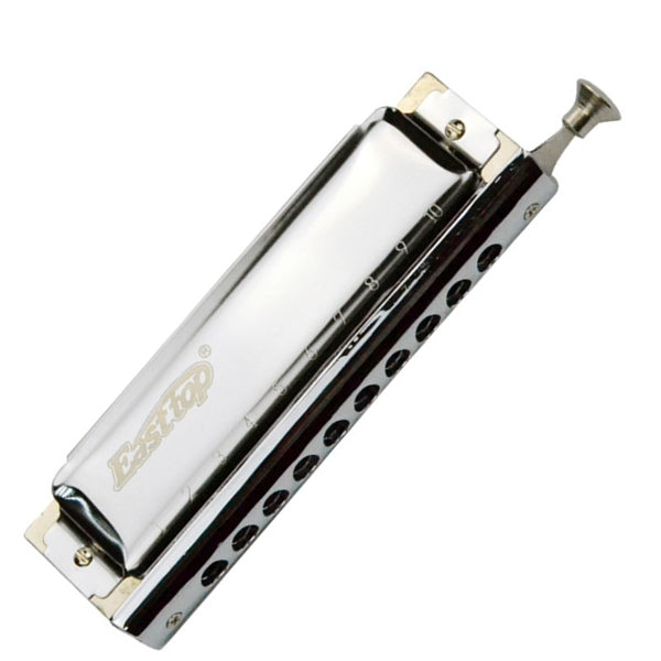 Easttop T10-40 10 Holes 40 Tones Advanced Chromatic Harmonica