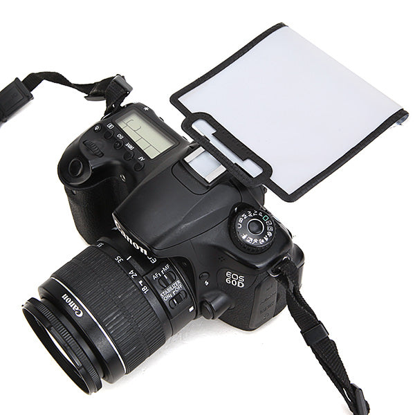 Universal Soft Screen Pop-Up Flash Diffuser For Nikon DSLR