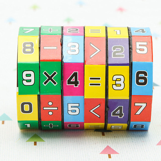Magic Cube Sudoku Puzzle Math Toy Eco-friendly Plastic Classic Kid's Children's