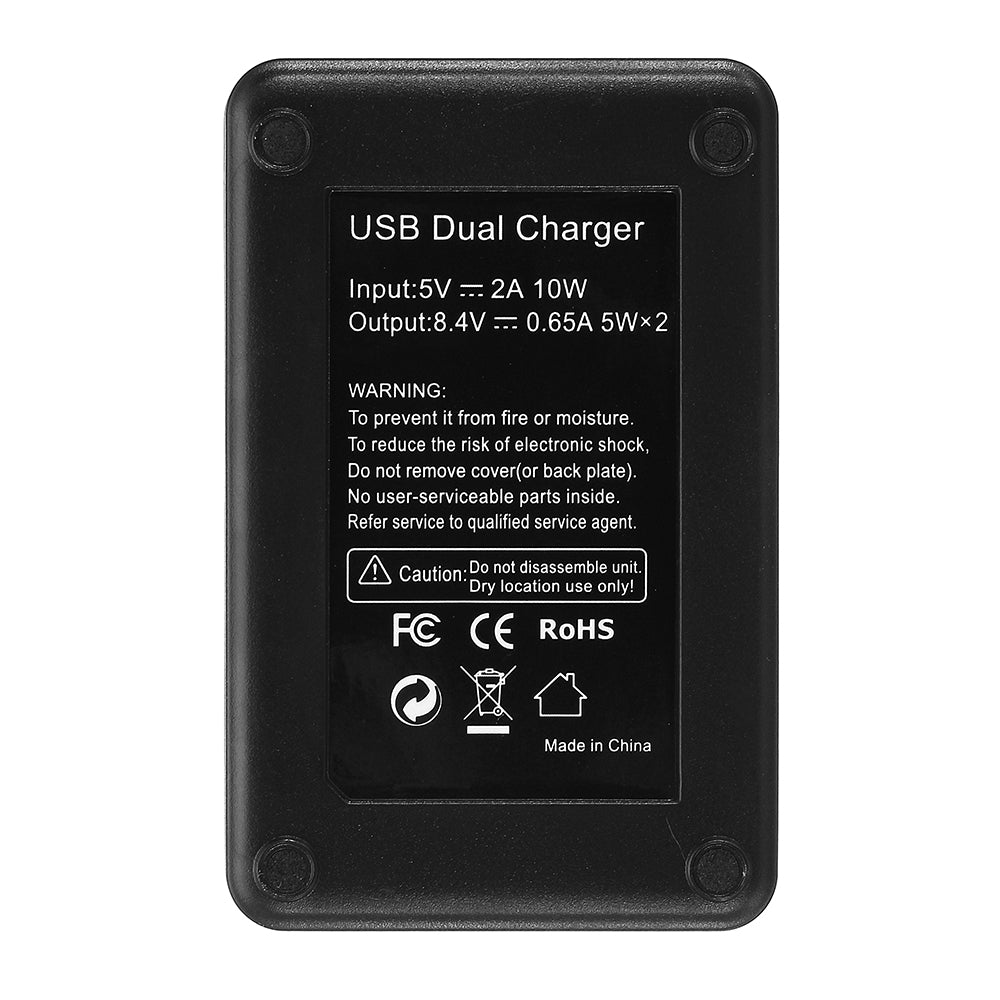 Palo FW50-B Rechargeable Battery Charger for Sony NP-FW50 DSLR Camera Battery