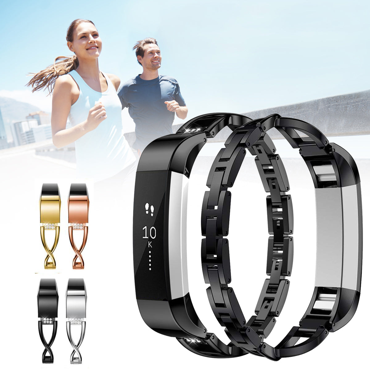 Fitbit Alta HR Replacement Watch Bracelet Strap Band For Fitbit Alta HR Smart Bracelet
