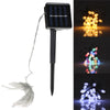 3M 20 LED String Light 8 Modes Solar Powered Outdoor Christmas Light