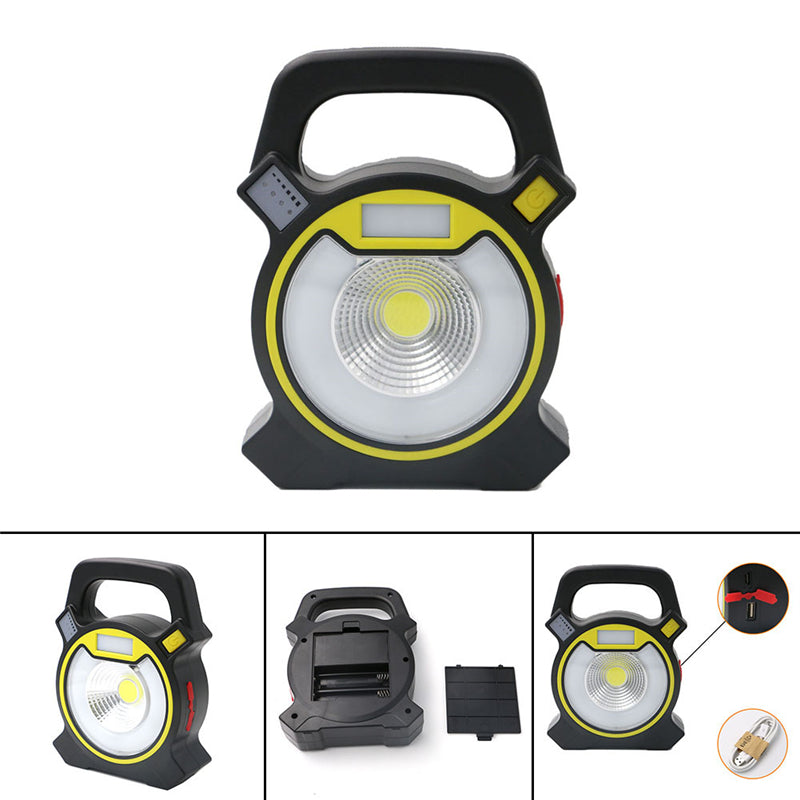 DC5V 5W 4 Light Modes Portable USB Charging Flood Light LED Emergency Light