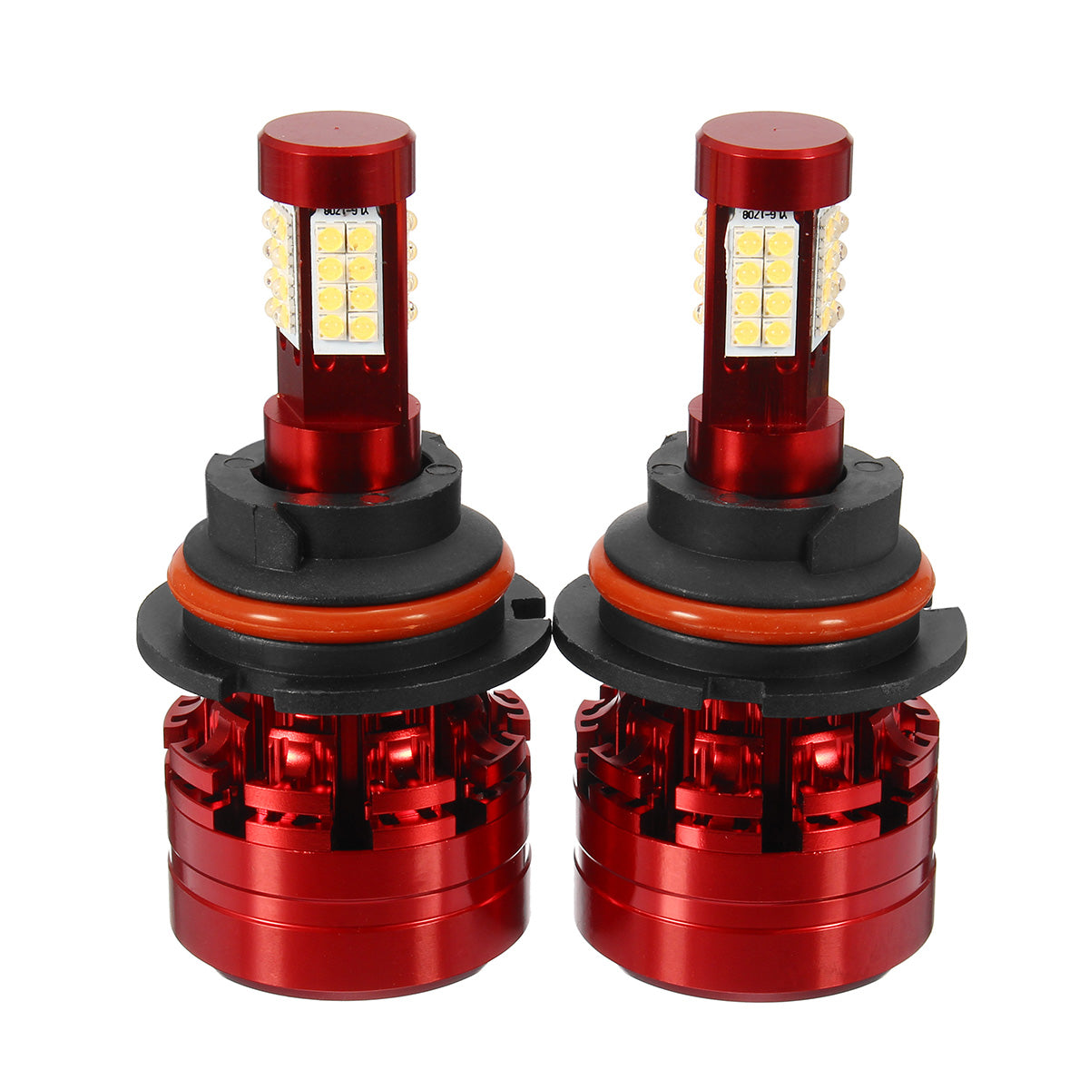 1Pair 9007 80W 8000LM 6000K Car LED Headlight Light Lamp Low Beam Bulbs High Power