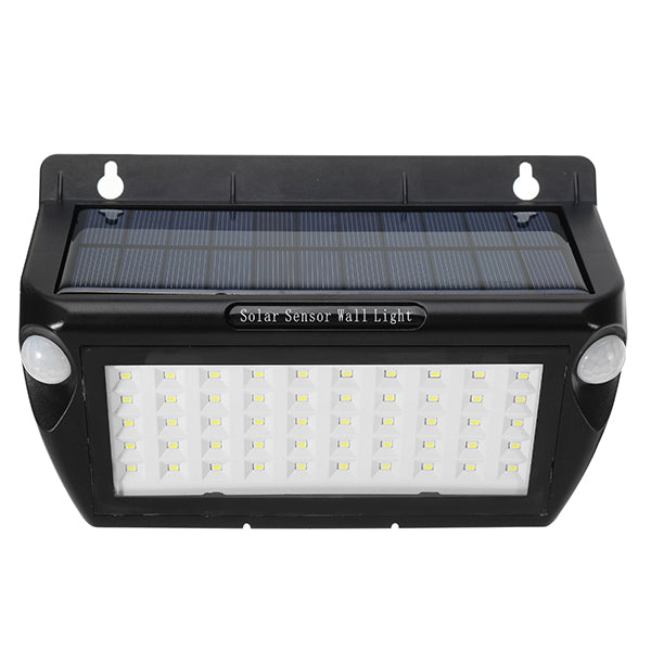 ARILUX AL-SL16 Solar 50 LED Double PIR Motion Sensor LED Wall Light Waterproof Outdoor Garden Lamp