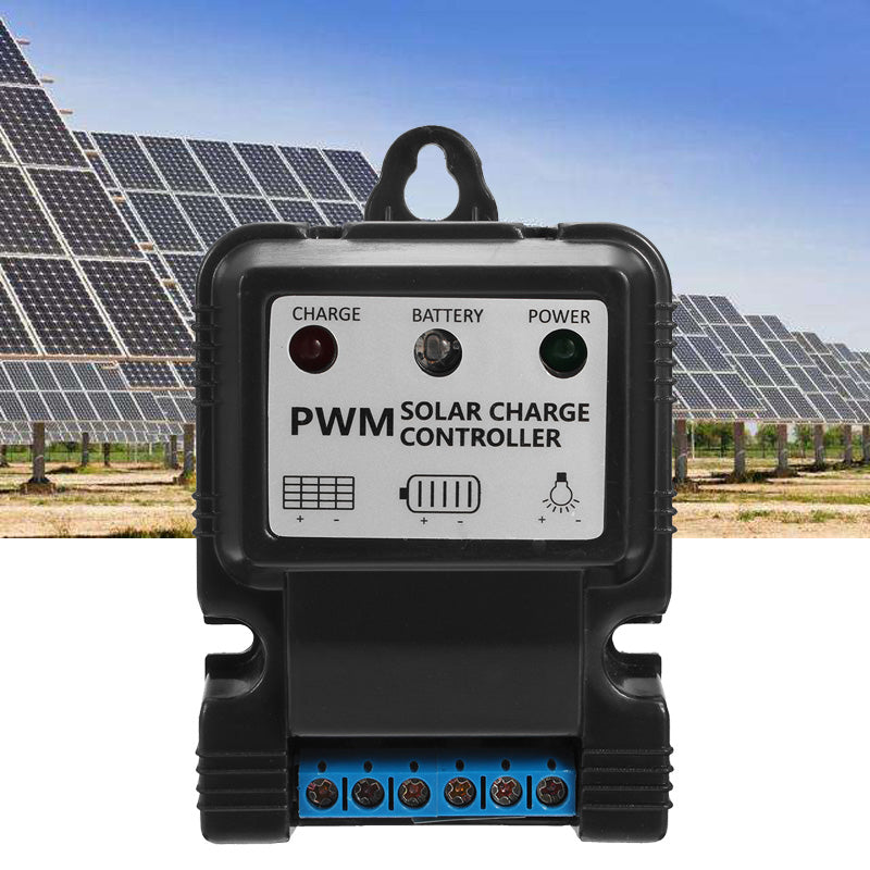 11.1V 5A PWM Solar Power Controller Intelligent Multiple Protection Controller