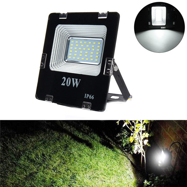 20W SMD5630 LED Aluminium Flood Light Outdoor IP66 Waterproof Yard Garden Landscape Lamp AC180-265V