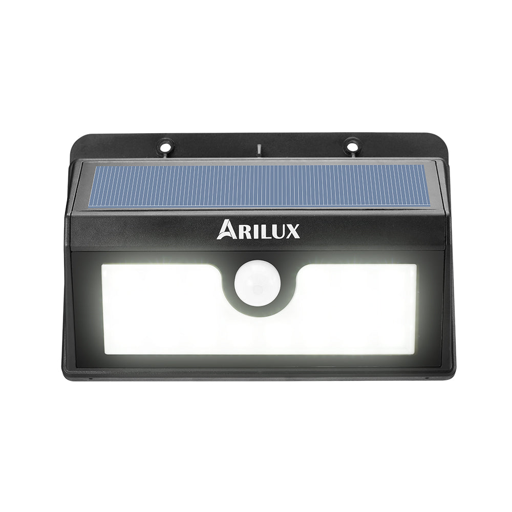 ARILUX® PL-SL 02 Wireless Solar Powered 20 LED Waterproof PIR Motion Sensor Outdoor Wall Light