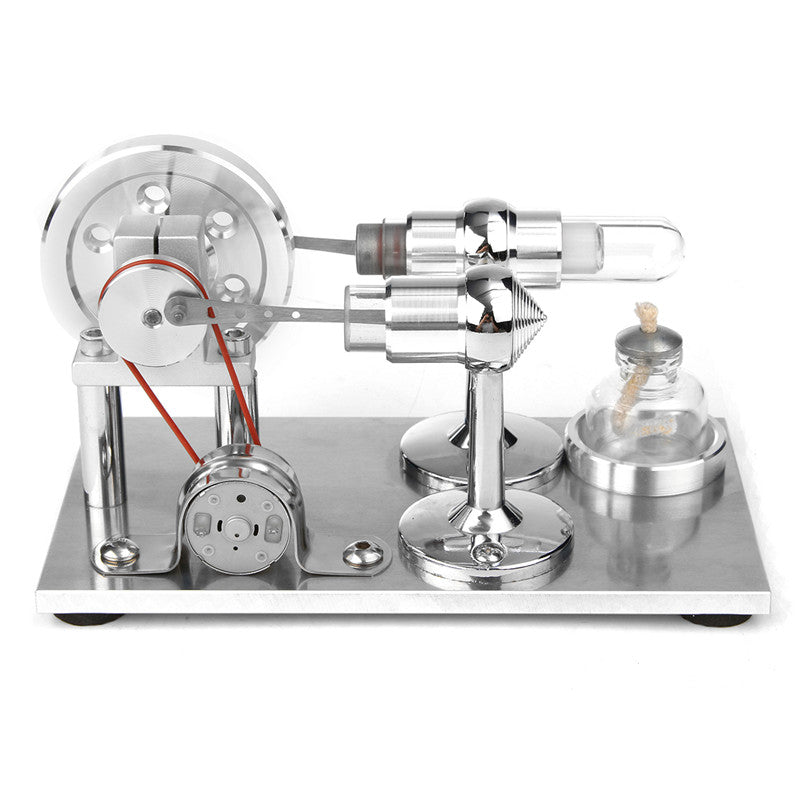 Hot Air Stirling Engine Model Electricity Power Generator Motor Toy Kits Gift