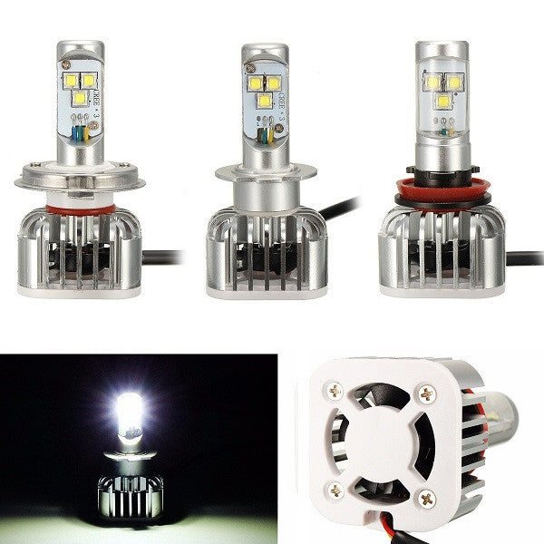 9005 9006 H7 H8 H4 6500K 6000LM 60W White Car LED Headlight Kit
