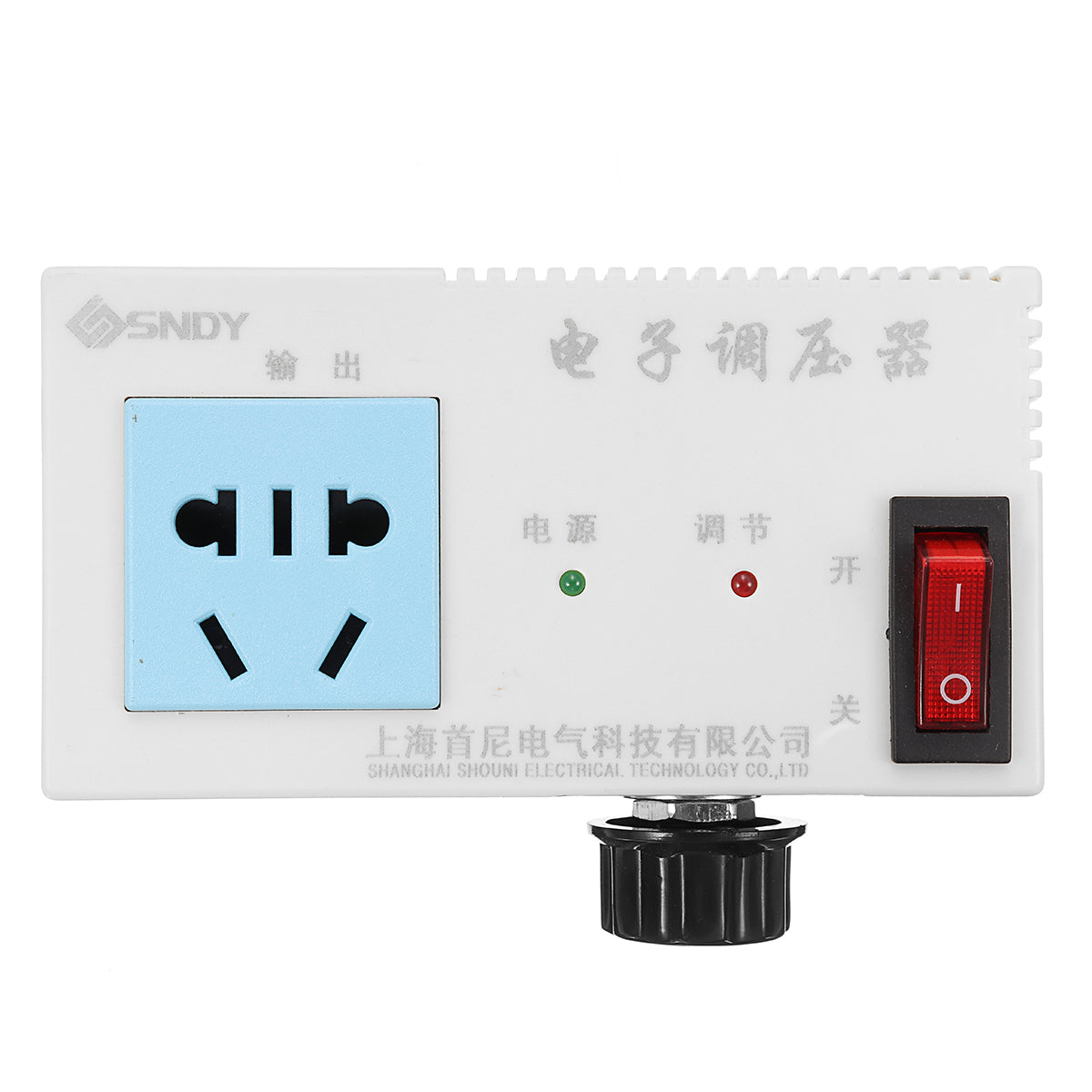 4000W AC 220V Variable Voltage Controller Control For Fan Speed Motor Temperature Dimmer