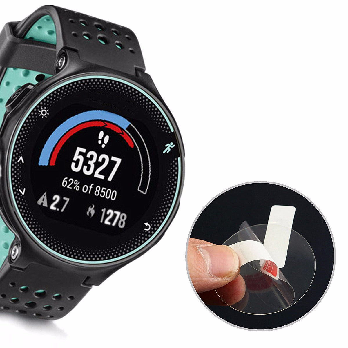Garmin Forerunner 235 Anti-Scratch Clear Screen Protector Film Shield For Garmin Forerunner 235 Watch