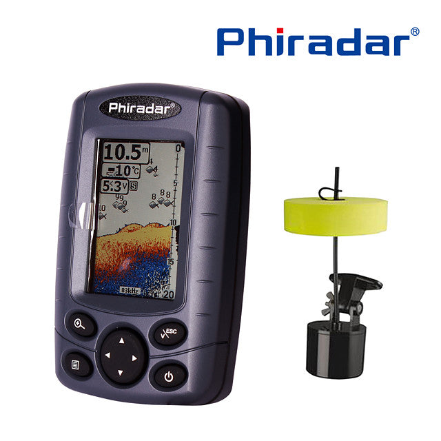 60.96 mm Fish Finder 12 pcs LCD 73 m Portable Electronic None Wireless