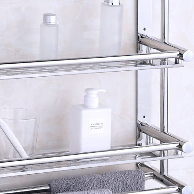 Bathroom Shelf Premium Design / Cool Contemporary Stainless Steel 1pc Wall Mounted