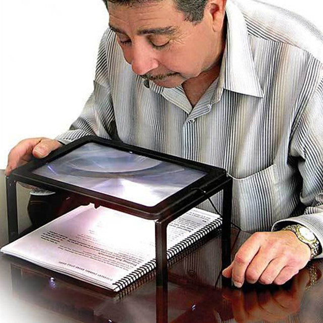 Full Page Large Giant Desk Magnifying Glass Magnifier for Reading