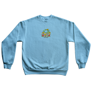 Light Blue Earth Day Crewneck