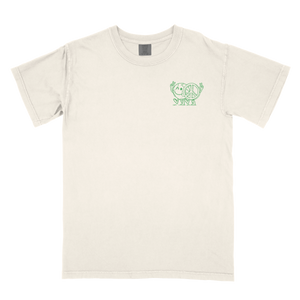 White Spread Positivity Tee