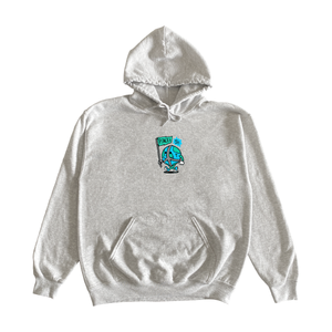 Heather Grey Peace Hoodie