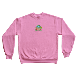 Pink Earth Day Crewneck
