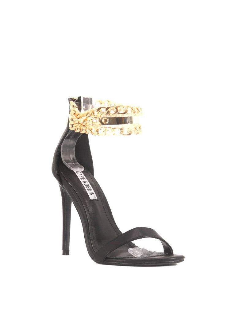 Camilla ChainUp Sandals Black
