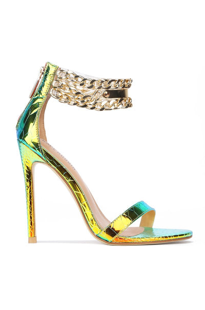 Camilla ChainUp Sandals Mermaid