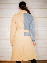 Two Faced Denim & Trench Coat