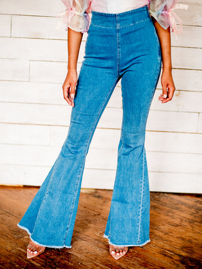 Bell Me Out Waistless Jeans