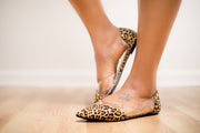 Rochelle Flats (Leopard) - FINAL SALE