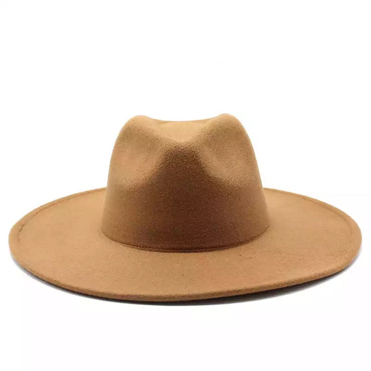 Eye Catching Large Brim Fedora - Ships October 21st