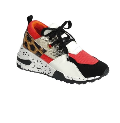 Tori Womens Sneaker - Orange- FINAL SALE