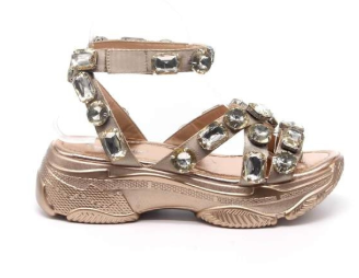Jewel Sandal (Gold) FINAL SALE