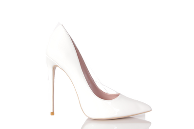 Classic Candace White Pointed Toe Pump - FINAL SALE