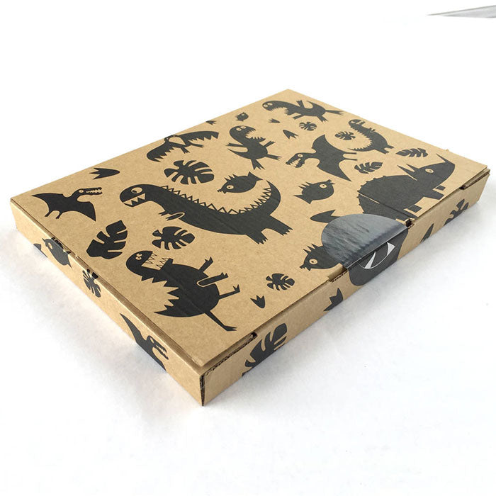 sgt smith hand printed mailing box