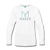 Maker Premium Long Sleeve T-Shirt - white