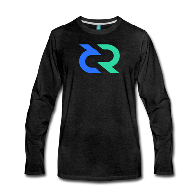 Decred Premium Long Sleeve - charcoal gray