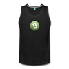 Bitcoin Cash Men's Premium Tank Top - black