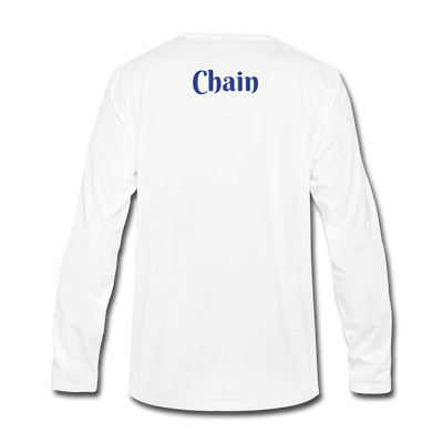 VeChain Premium Long Sleeve - white