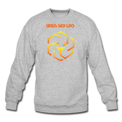 Unus Sed Leo Crewneck Sweatshirt - heather gray
