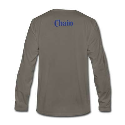 VeChain Premium Long Sleeve - asphalt gray