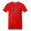 Dash Men's Premium T-Shirt - red