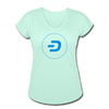 Dash Women's Tri-Blend V-Neck T-Shirt - Sticky Crypto